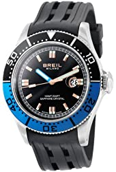 Breil Milano Men's BW0400 Manta Analog Black Dial Watch