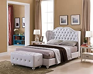 Image Result For Crystal Tufted Design Leather Look Platform