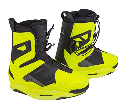RONIX One Wakeboard Bindings - Nuclear Yellow / Black - Intuition - 8
