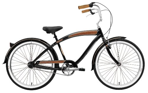 Nirve Forty-Nine Men's 3-Speed Cruiser Bike