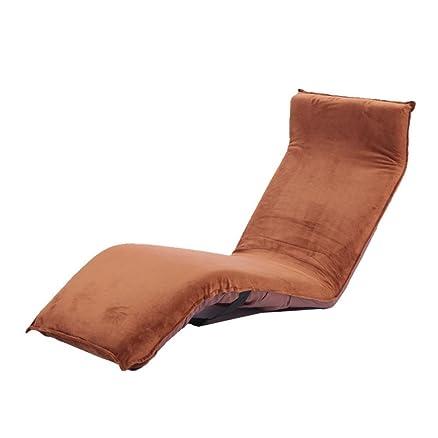 Lazy sofa Divano in tessuto Sedia pieghevole Divano letto singolo divano letto per uso professionale Tatami Recliner Sedia pieghevole Sedie da esterno in baule , coffee