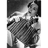 KNITTED PURSE #2725 - Vintage 1945 Handbag Knitting Pattern (ePattern) - Instant Download Kindle Ebook - AVAILABLE FOR DOWNLOAD to Kindle DX, Kindle for ... ENABLED (digital book, knit, bag) ~ Northern Lights Vintage