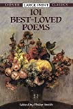 101 Best-Loved Poems (Dover Large Print Classics)