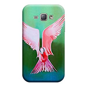 CaseLite Premium Printed Mobile Back Case Cover With Full protection For Samsung J1 2016 (Designer Case)