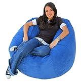 Cozy Sack 4-Feet Bean Bag Chair, Large, Sky Blue