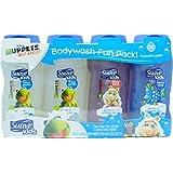 Suave Kids Bodywash Fun Pack, 4 Pack