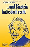 img - for ...und Einstein hatte doch recht (German Edition) by Clifford M. Will (1989-01-01) book / textbook / text book