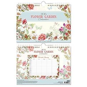 The home fusion company calendrier 2015 fleurs jardin 2 for Planificateur jardin