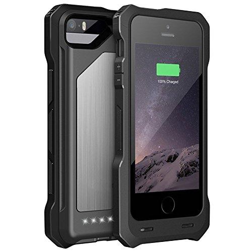 (Bidear) ウルトラスリムバッテリーケース iPhone 6plus/6s plus/7plus 5.5インチ用 iphone6 plusカバー ケース iPhone6S plusバッテリー内蔵ケース 4000 mAh 一体型 MFi Apple社認定商品 iPhone 7plus 2サイズ兼用 ケース型バッテリー