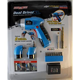 ChannelLock Dual Driver Xl 4-Volt Lithium Ion Compact Cordless Drill/Driver