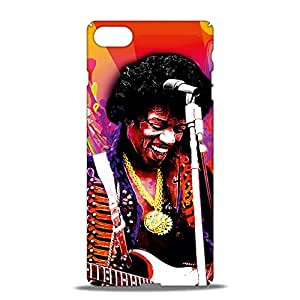 ezyPRNT Jimi Hendrix a Music Legend Mobile Back Case Cover for Apple iPhone 7