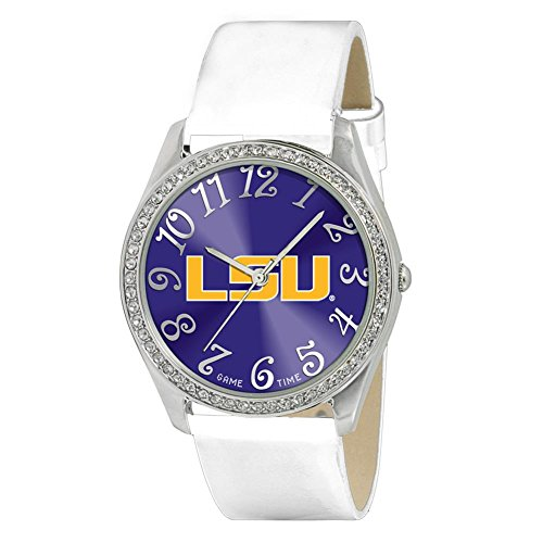 [LSU Tigers Ladies Watch - Designer Diamond Watch] (Incredibles Costumes Designer)