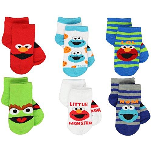 sesame-street-infant-toddler-6-pk-ankle-socks-2-4-shoe-4-7