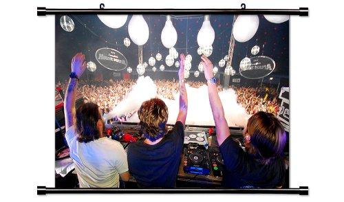 Swedish House Mafia DJ Wall Scroll Poster (32x19
