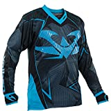 Valken Redemption Vexagon Jersey, Navy/Light Blue, X-Large
