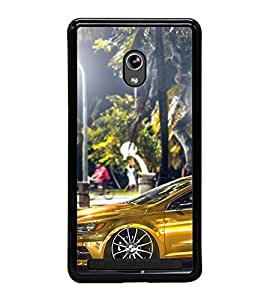 Fuson Premium 2D Back Case Cover Stylish car With blue Background Degined For Asus Zenfone 5::Asus Zenfone 5 A500CG