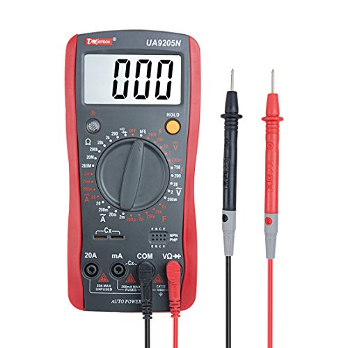DMiotech-Digital-Multimeter-Multi-Tester-Capacitance-Resistance-DC-AC-Voltage-Current-Transistor-Diode-Continuity-Meter-Auto-Power-off-30-Range