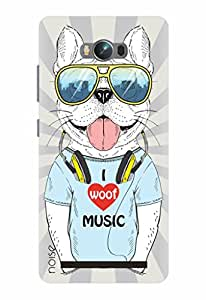 Noise Designer Printed Case / Cover for Asus Zenfone Max / Comics & Cartoons / Woof Music