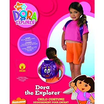 amazoncom dora the explorer costume toddler girl