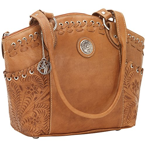 american-west-harvest-moon-collection-zip-top-bucket-tote
