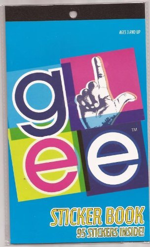 Glee Sticker Book ~ 95 Stickers - 1