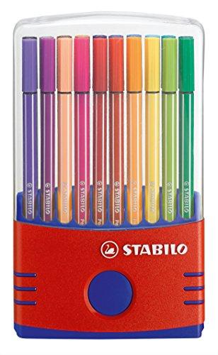 STABILO 水性ペン ペン68 カラーパレード 20色 6820-03