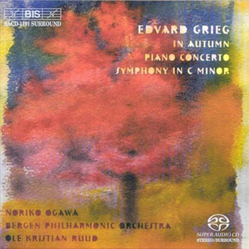 Grieg In Autumn; Piano Concerto; Symphony in C minor [Hybrid SACD] Grieg Ole K