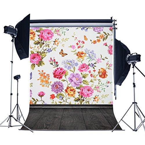 fotoo-5x7ft-spring-rose-flower-wallpaper-wall-wood-floor-vinyl-photography-backdrops-studio-props