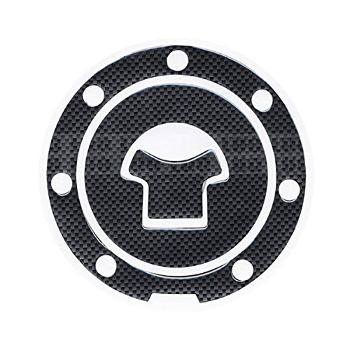 Motorbike Racing Fiber Fuel Gas Cap cover Tank Protector Pad Sticker Decal For Honda CBR 600 F2 / F3 / F4 / F4i / F5 (Honda Cbr F3 compare prices)