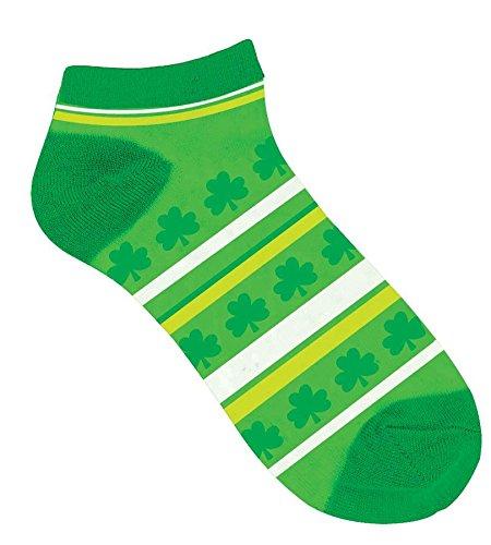 socks no show st pattys stripe
