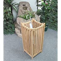 D-ART Outdoor Teak Umbrella Stand- in Teak Wood