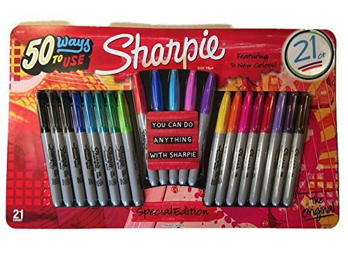sharpie-permanent-markers-limited-edition-21ct-value-pack