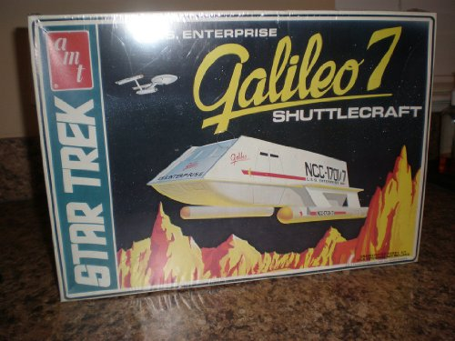 1974 Vintage Large Box Star Trek Galileo 7 Seven Shuttlecraft AMT Model KIT