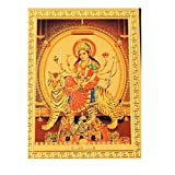 Shubhpuja Durga Maa (Magnetic Gold Plated)