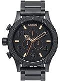 Nixon Men's A083957 51-30 Chrono Analog Display Japanese Quartz Black Watch