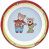 Sigikid Wild and Berry Bears Plato de melamina (21,5x 21,5x 2,5cm)