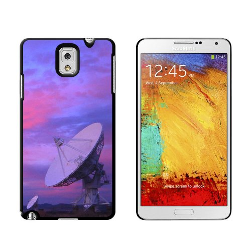 Very Large Array Vla Radar Telescope Dishes New Mexico At Sunset - Snap On Hard Protective Case For Samsung Galaxy Note Iii 3