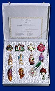 #!Cheap Old World Christmas Bride's Collection Ornament Box Set