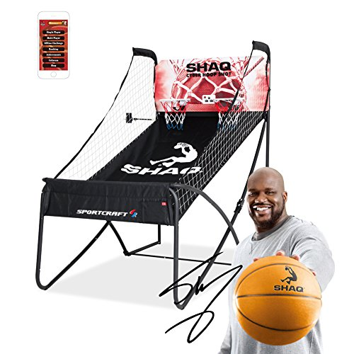Shaq and Sportcraft Basketball Double Hoop Shot Arcade Conventional Plus Online App Game Sportcraft (Basketball Hoop Electronic compare prices)