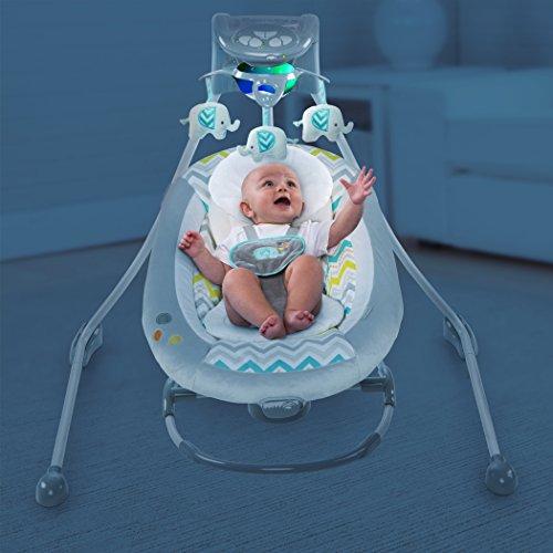 Ingenuity Inlighten 2-in-1 Cradling Swing – Avondale