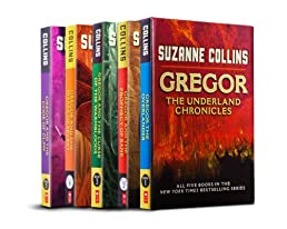 The Underland Chronicles: Books 1-5 Paperback Box Set