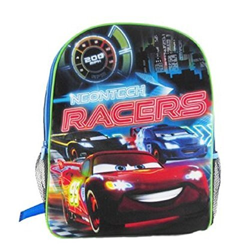 Disney-pixar Cars Neontech Racers Youth - 16'' Backpack - 1
