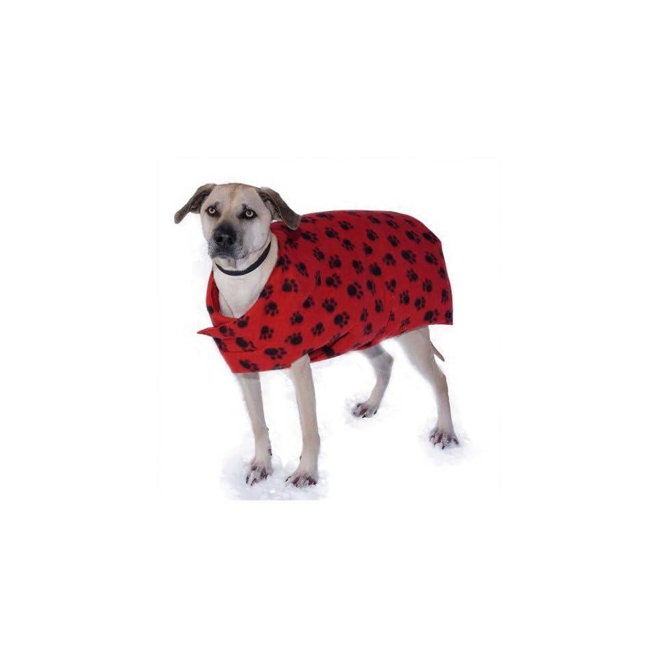 Original Goose Down Dog Coat Paw Print XS  Pet Coats