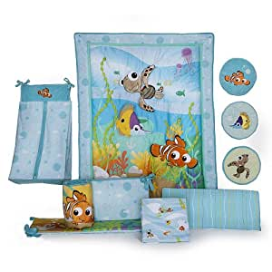 Disney Finding Nemo 8 Piece Crib Bedding Set