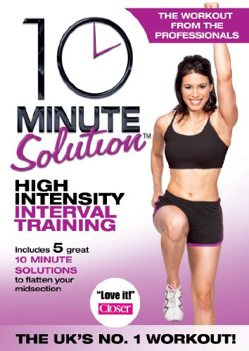 10 Minute Solution: High Intensity Interval Training [DVD]