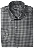 Kenneth Cole Reaction Mens Slim Fit Mini Check