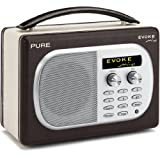 PURE EVOKE Mio Chocolate, Rechargeable DAB/FM Radioby Pure