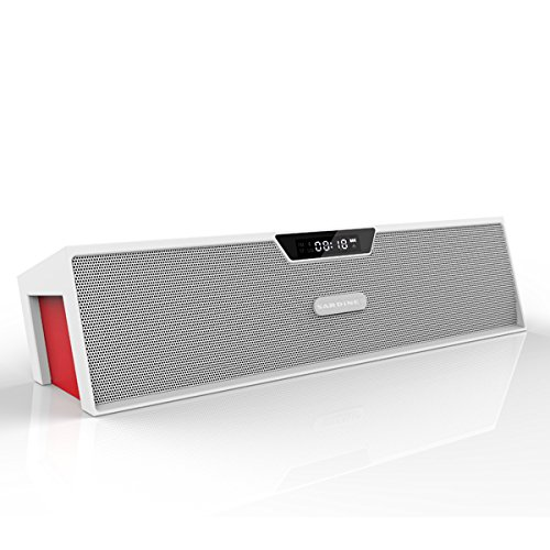 Aode® White Hi-Fi Stereo Wireless Bluetooth Speaker 130396