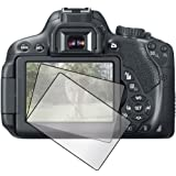 3x Canon EOS 650D Rebel T4i Kiss X6i DSLR camera Premium Clear LCD Screen Protector Cover Guard Shield Protective Film Kit (3 Pieces)