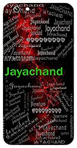 Jayachand (Victory Moon) Name & Sign Printed All over customize & Personalized!! Protective back cover for your Smart Phone : Samsung Galaxy E-7